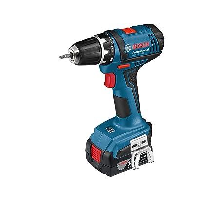 Bosch Professional 06019B7400 Atornillador a batería, 14.4 W, 14.4 V, Negro, Azul, Rojo