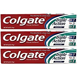 Colgate Triple Action 6 Oz (Pack of 3)