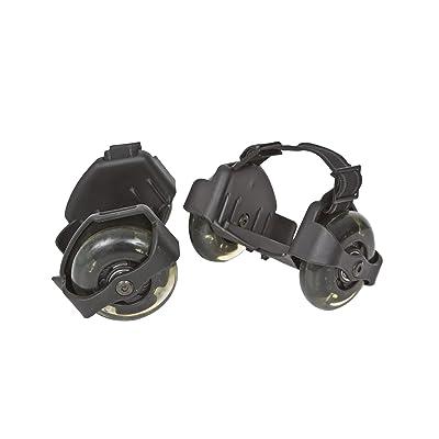 1 paire Funrollers pour les chaussures - taille réglable à 80 kg Capacité de lumières / lumière noire - Import Allemagne