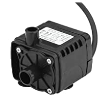 Rrimin New 12V Car Cooling Solar Brushless Submersible Water Pump Fountain