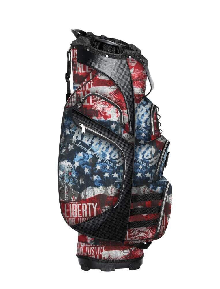Subtle Patriot 15クラブ ゴルフカートバッグ