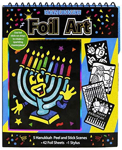 Hanukkah Foil Art Chanuka Activity Pack