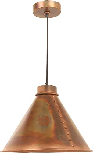 Kenroy Home Kenroy 93120FCOP Restoration One Light Pendant from Cuprum Collection Finish