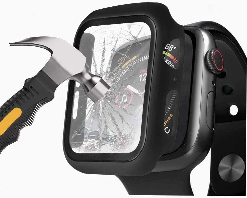 Protector para iwatch (Negro, Serie 6/5/4 / SE 40 mm)Henstar