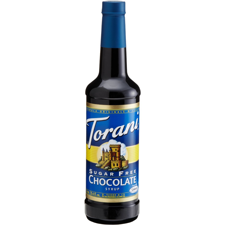 Torani Sugar Free Chocolate Syrup, 25.4 Ounce