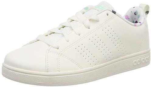 Adidas Tenis Advantage Clean - B75739 - Blanco - Mujer  Amazon.com ... bc43d89c27502