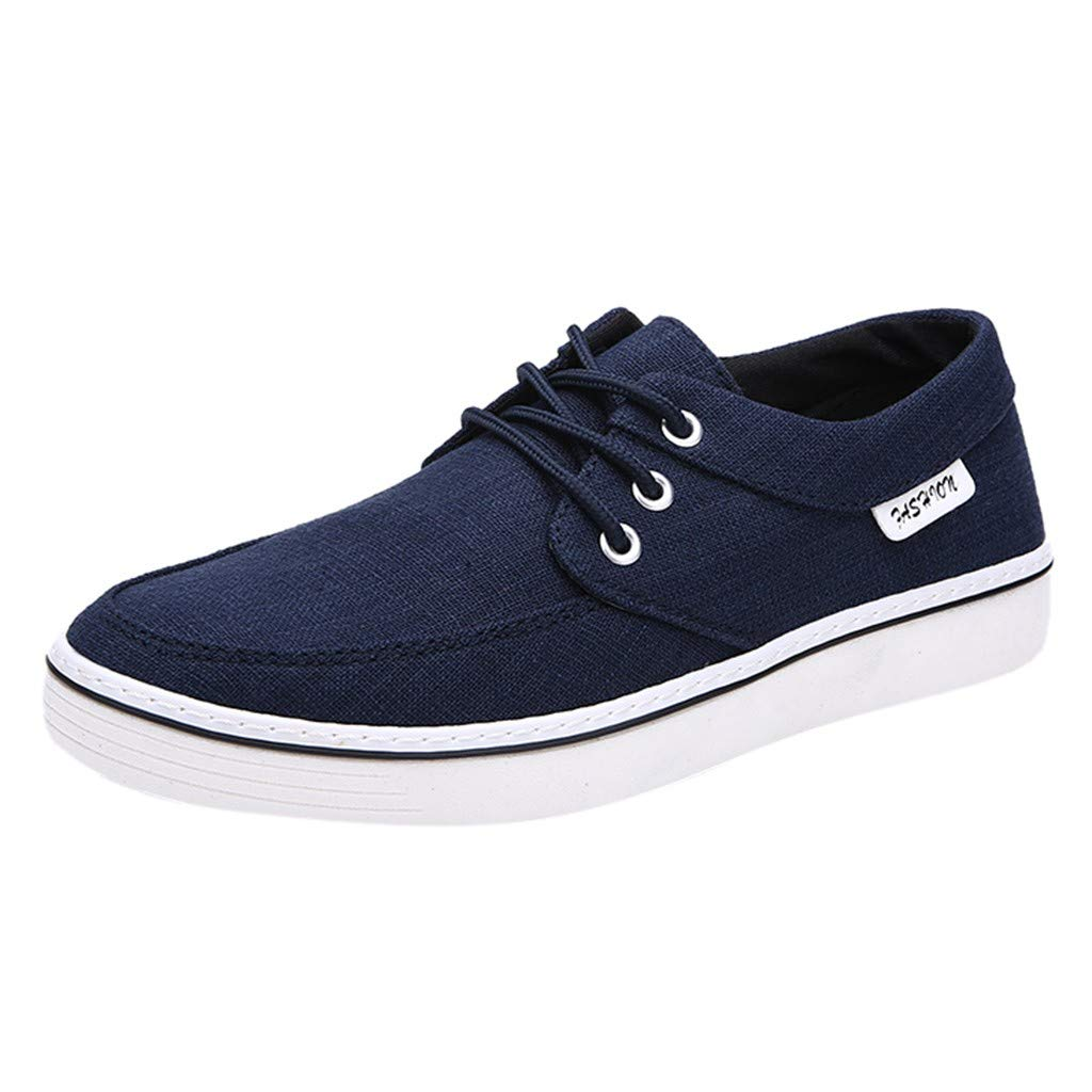 WILLTOO  Summer Men Shoes !! Men Shoes Outdoor Casual Canvas Shoes Comfortable Sport Shoes