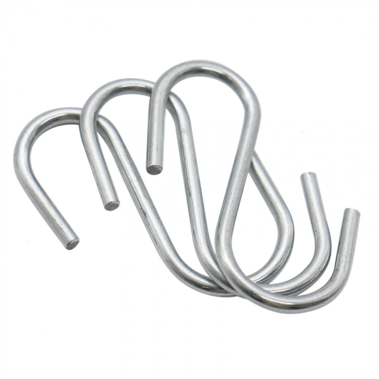 Amazon.com: Buorsa - 100 conectores de gancho en forma de S ...