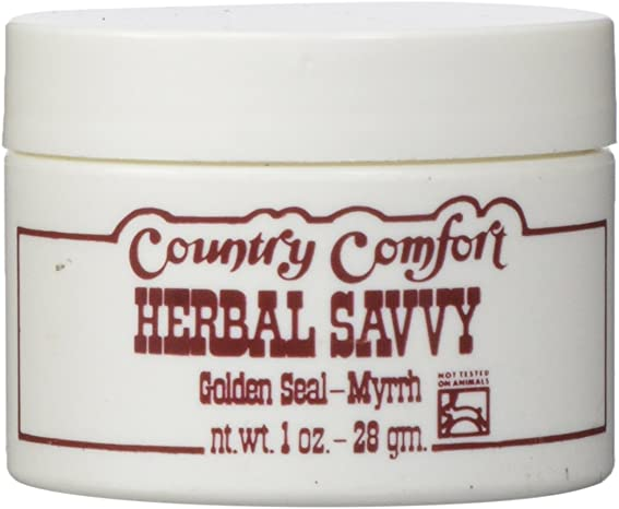 Country Comfort Herbal Savvy Golden Seal-Myrrh – 1 Oz, 1 Ounce
