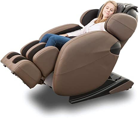 Amazon Com Zero Gravity Full Body Kahuna Massage Chair Recliner Lm6800 With Yoga Heating Therapy Brown Furniture Decor