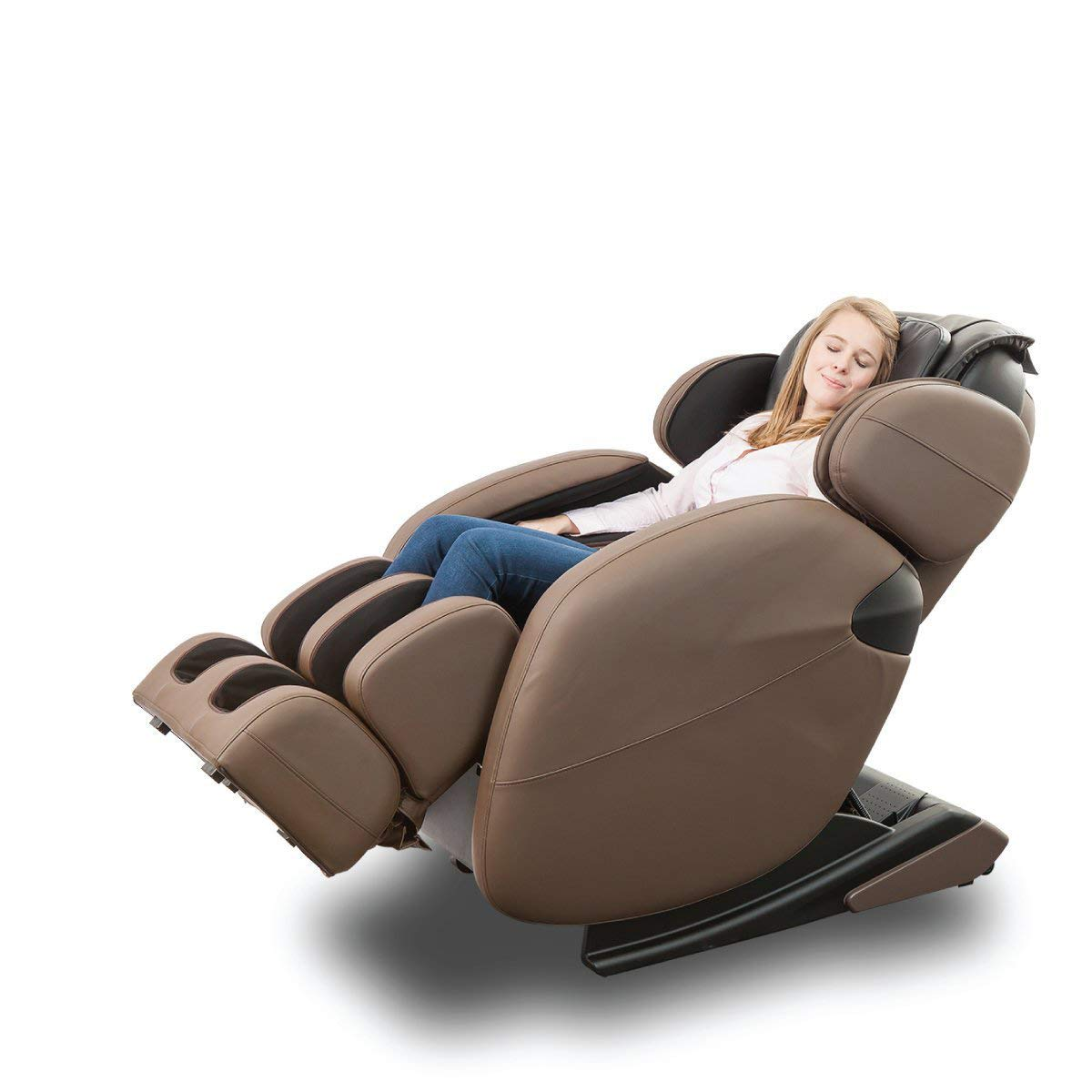 Zero Gravity Full-Body Kahuna Massage Chair Recliner with Yoga & Heating Therapy
