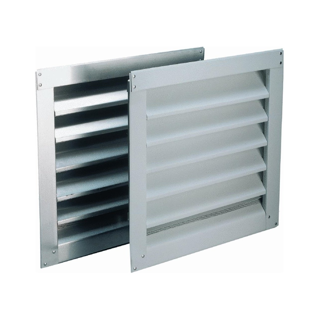 """Air Vent Wall Louver 12"""" X 12"""" 1.5"""" 39.6 Sq. In. Free Area Aluminum"""