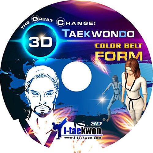 Taekwondo 3D Color Belt Form Kukkiwon Taekwondo Poomsae Tutorial PC SoftwareL
