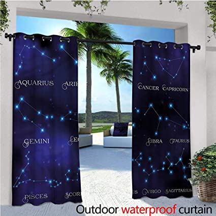 Amazon com : warmfamily Constellation Indoor/Outdoor Single Panel