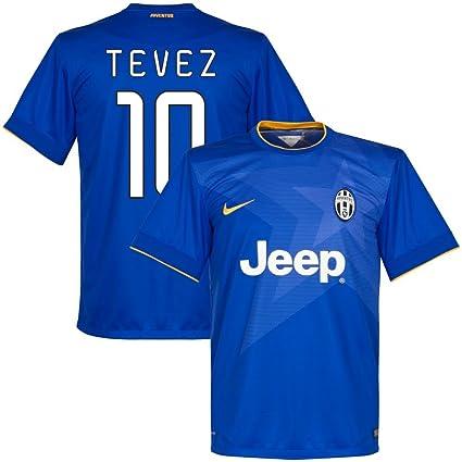 Amazon.com   Nike Juventus Away Tevez Jersey 2014 2015 (Fan Style ... 0852510a1