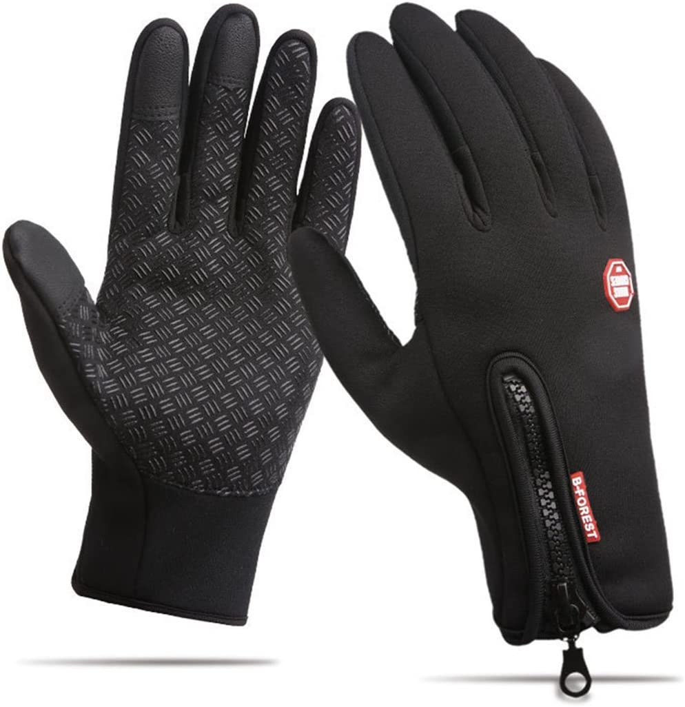 HILELIFE Touch Screen Cycling Gloves - Windproof Anti-Slip Texting Gloves for Driving Bike Running