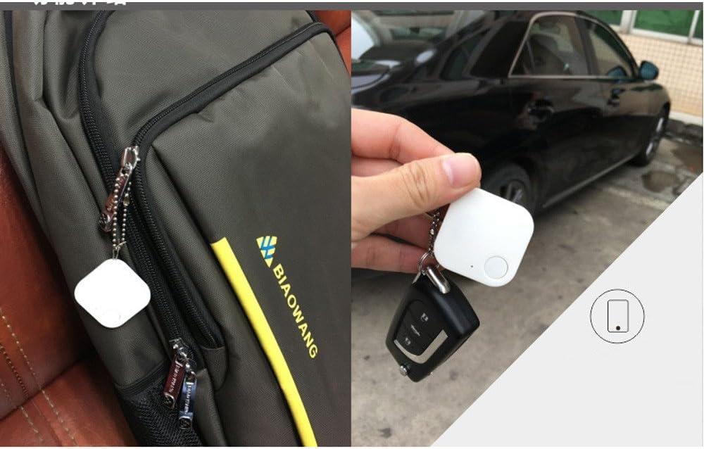 Gotd Smart Bluetooth Mini GPS Tracker Locator Alarm Pet Child Wallet Key Finder Pink