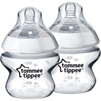 Tommee Tippee Closer to Nature Bottles, 5 Ounce, 2ct