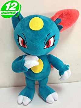 Pokemon Peluche Sneasel/Sniebel/Farfuret 30cm