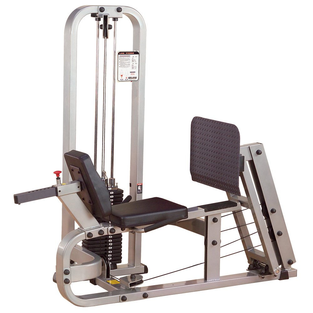 Body-Solid ProClubLine Leg Press Machine with 210-Pound Weight Stack (SLP500G2)