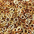 Weave Got Maille, 18-Gauge 3.5mm Pirate\'s Gold Enameled Copper Jump Ring Mix - 1 oz