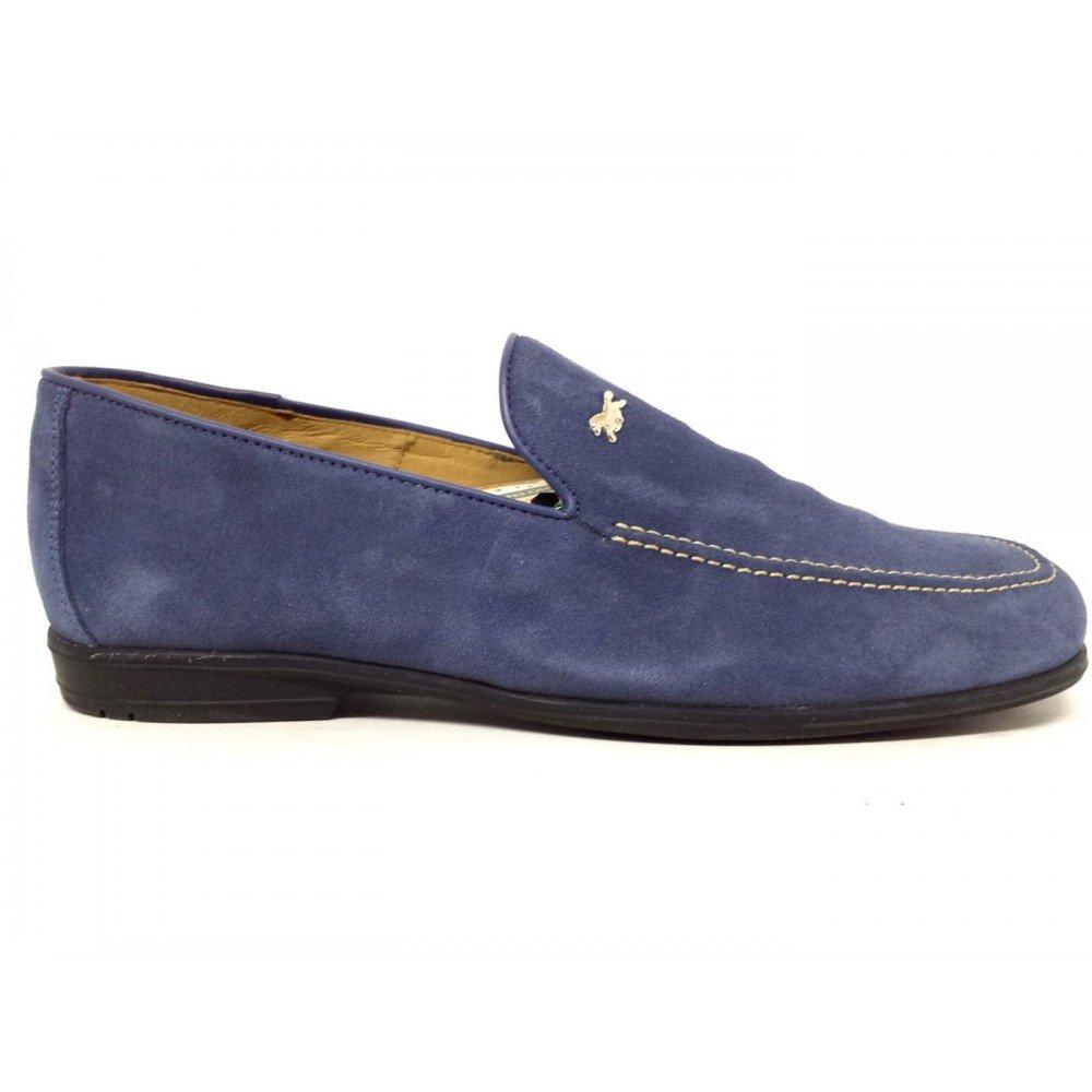 Trotters - Mocasines para Hombre Azul Turquesa Azul Size: 43 EU: Amazon.es: Zapatos y complementos