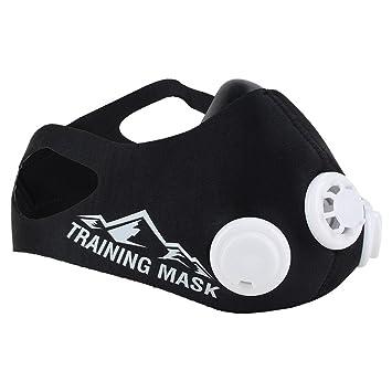 Entrenamiento en altitud máscara, MMA Training máscara, máscara de fitness, ajustable oxígeno nivel