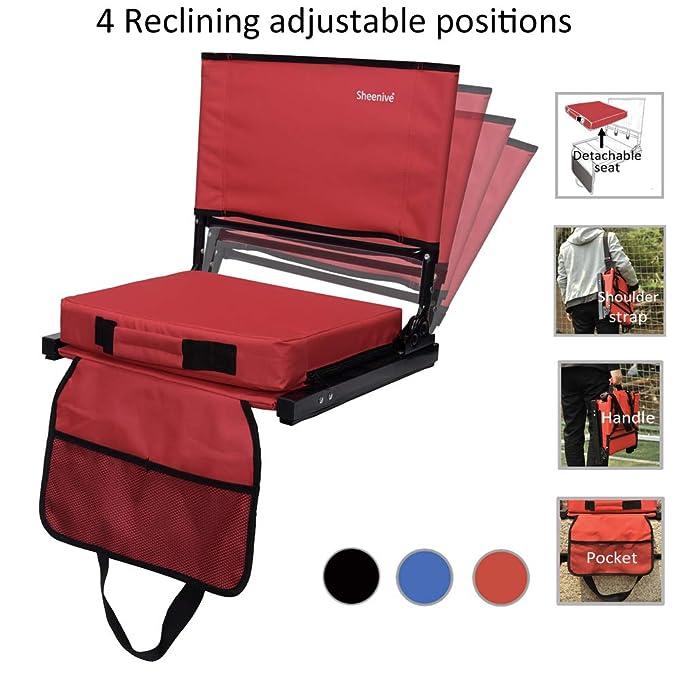 Amazon.com: Sheenive - Asiento reclinable para estadios para ...