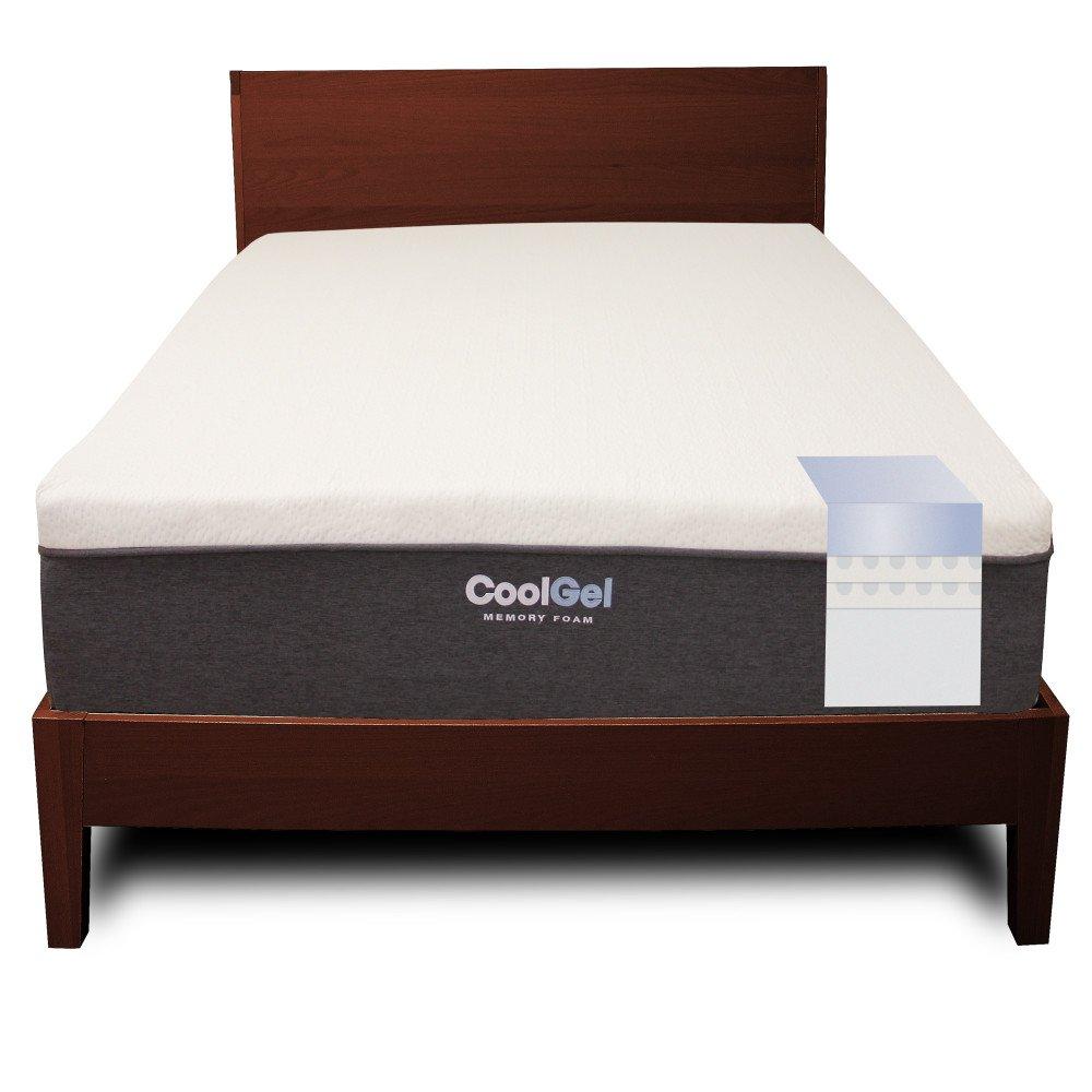 amazoncom classic brands cool gel memory foam 12inch mattress king kitchen u0026 dining