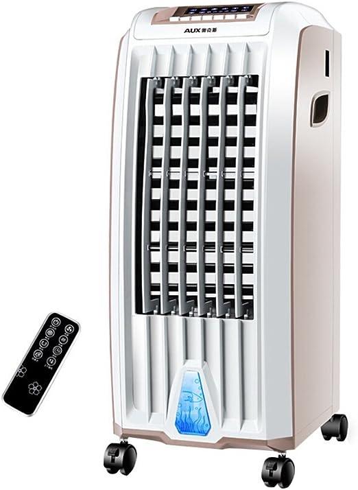 F-S Ventilador De La Casa del Ventilador del Aire Acondicionado/Ventilador Frío Mecánico Ventilador De La Torre del Oscilación Que Refresca Rápido 75W (Color : Remote Control): Amazon.es: Hogar