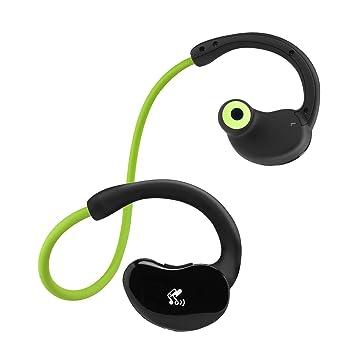 SoundPEATS Cascos Bluetooth 4.0 inalambrico auriculares con micrófono cascos Deportivos resistente al agua y sudor y soporte técnico de llamadas con ...