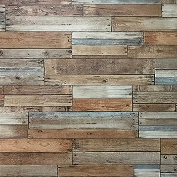 Brewster Wallcovering Co Fd23274 Barn Board Brown Thin