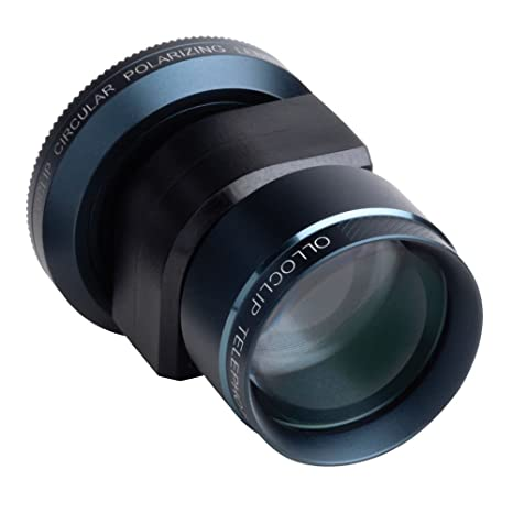 917f24d044d0a3 Amazon.com : Olloclip Telephoto and Circular Polarizing Lens System for  Apple iPhone 5, iPhone 5S and Apple iPod Touch 5th. Generation - Black :  Camera & ...