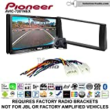 Pioneer AVIC-7201NEX Double Din Radio Install Kit with GPS Navigation Apple CarPlay Android Auto Fits 2002-2006 Non Amplified Toyota Camry