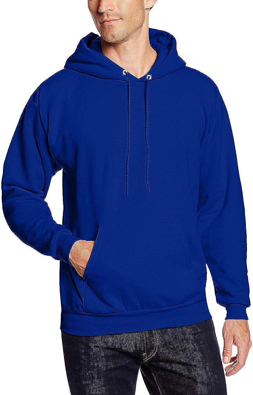 Hanes 7.8 oz. 50/50 Pullover Hood (P170) Deep Royal Blue, 4XL