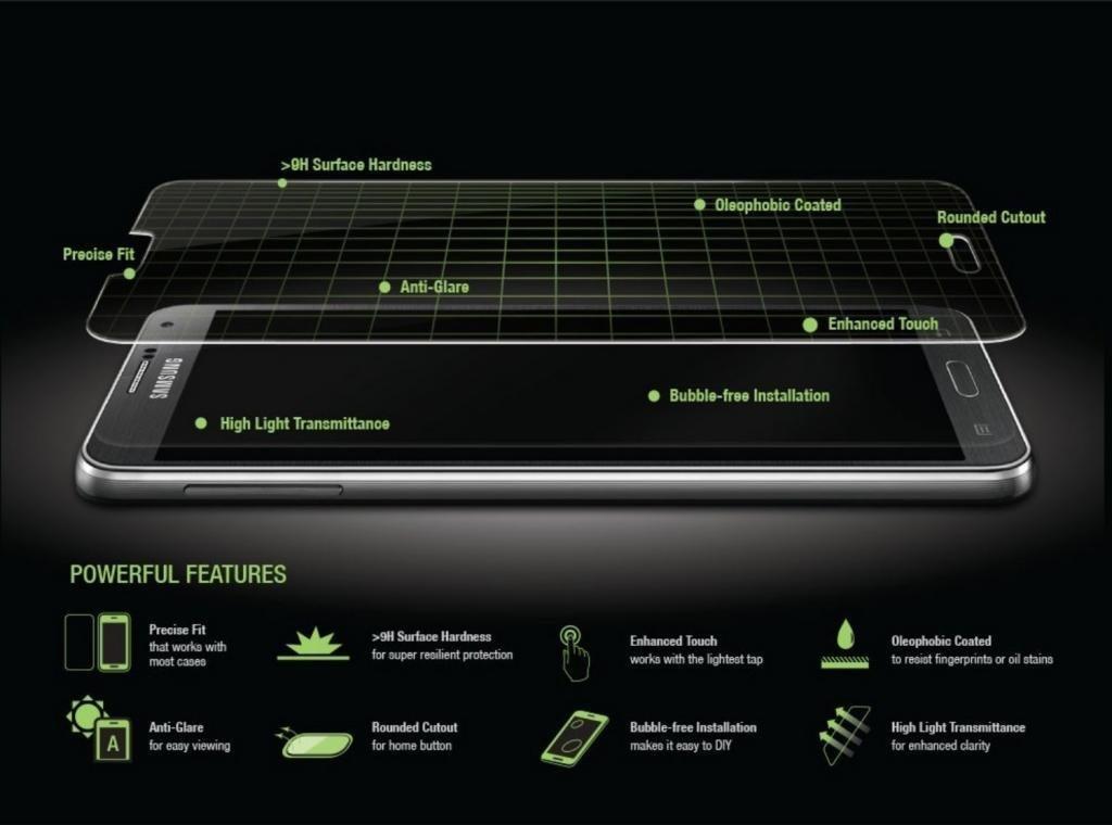 Protector de Pantalla para Samsung Galaxy Note 3 Cristal Vidrio Templado Premium, Electrónica Rey®: Amazon.es: Electrónica