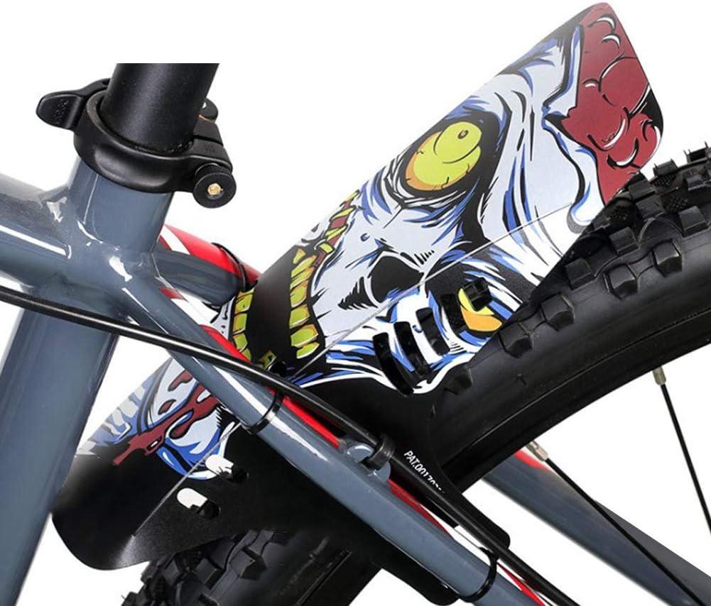 housesweet MTB Guardabarros Conjunto Bicicleta de monta/ña Bicicleta de Carretera Guardabarros de Bicicleta Guardabarros Delantero y Trasero Guardabarros de Bicicleta de monta/ña Engranaje Guardabarros