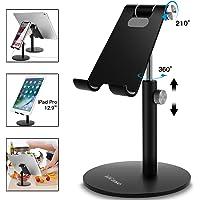 AICase Adjustable Tablet/Phone Stand, Telescopic Adjustable Ipad Stand Holder,Universal Multi Angle Aluminum Stand…