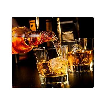 placa de cucervezata de la estufa con grano conjunto de 235 tabla de cortar whisky: Amazon.es: Hogar