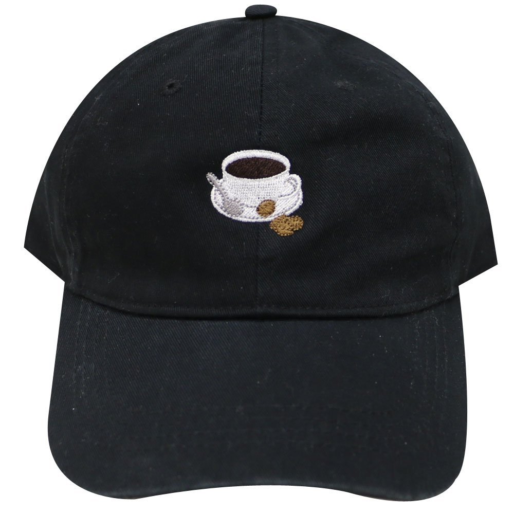 bb17ea5199160 City Hunter C104 a cup of Coffee Cotton Baseball Cap 15 Colors (Black) at  Amazon Men s Clothing store