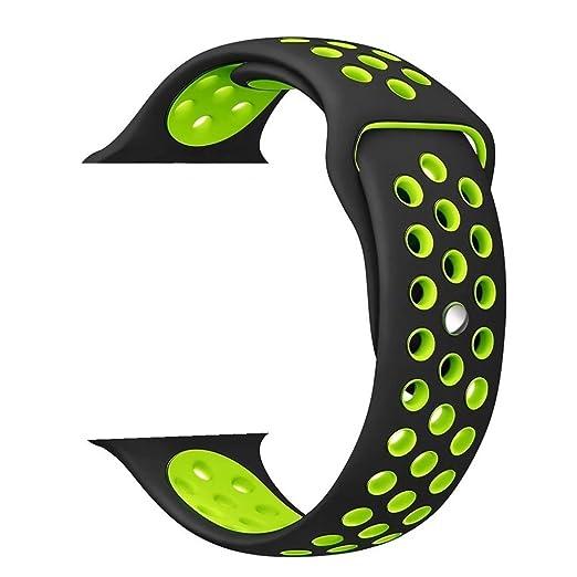 136 opinioni per ZRO Smartwatch Cinturino, Morbido Silicone Sport Cinturini di Ricambio per Apple
