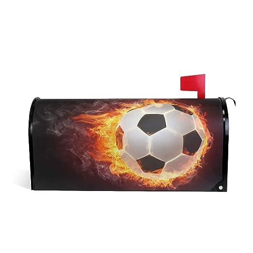 CPYang - Funda magnética para buzón de fútbol, diseño de balón de ...