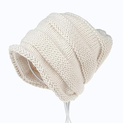 Amazoncom Chartsea Knitted Winter Slouchy Beanie Hat Oversized