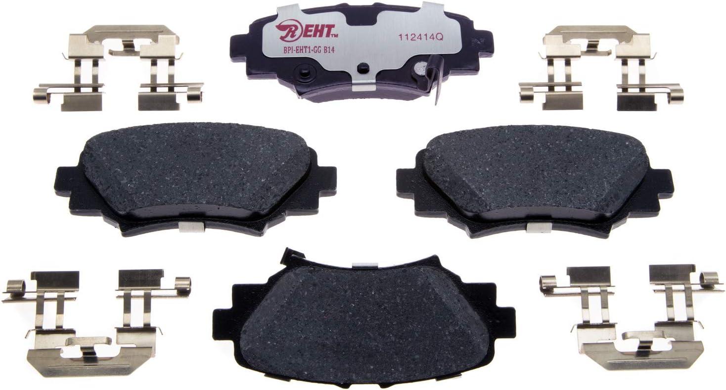 Disc Brake Pad Set-Element3 Hybrid Technology Rear Raybestos EHT1679H