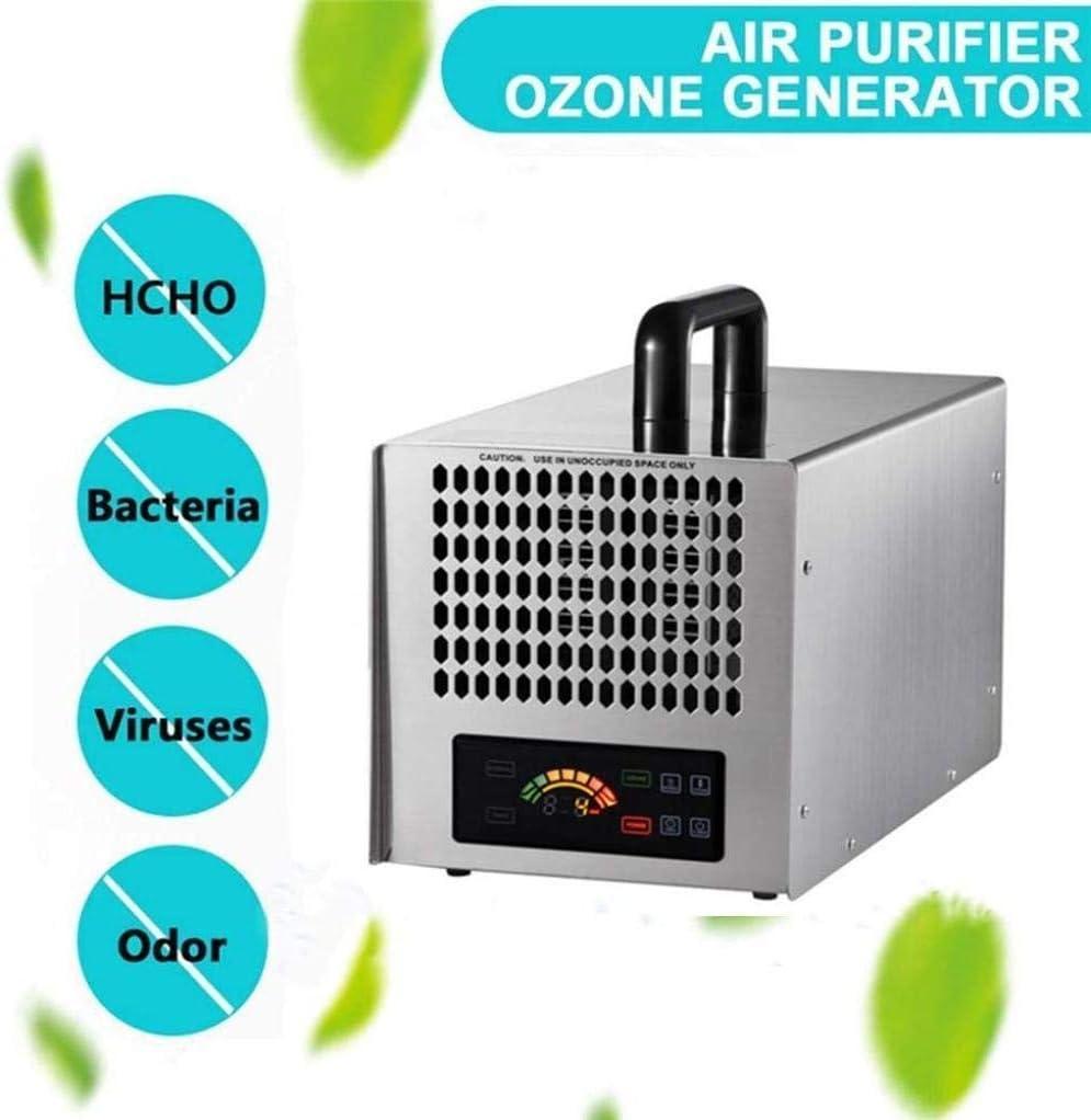el Ozono Industria Generador Portátil de Ozono Máquina Quitar Formaldehído Eliminar el Olor con el Panel de Inicio/Hospital de Control Inteligente Led/Fábrica/el/Cocina/Escuela Comercia: Amazon.es: Bricolaje y herramientas