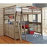 Cheap NE Kids Highlands Full Loft Bed