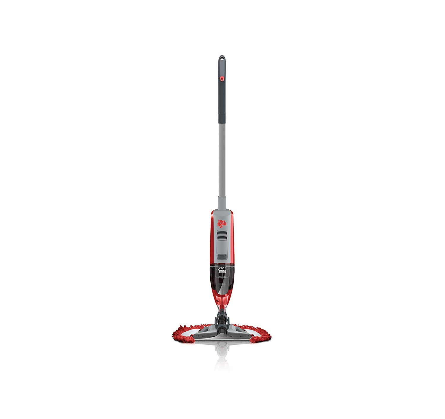 Dirt Devil BD21005u Vac+Dust 10.8V Cordless Bagless Vacuum with Swipes Microfiber Scrubbing Pad