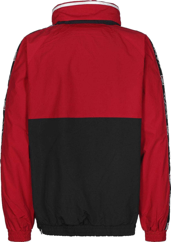 Karl Kani Sport Block Chaqueta Cortavientos Red/Black ...