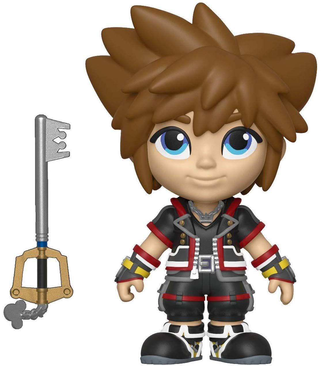 Kingdom Hearts 3 Sora Action Figure Funko 5 Star Disney Includes Compatible Pop Box Protector Case