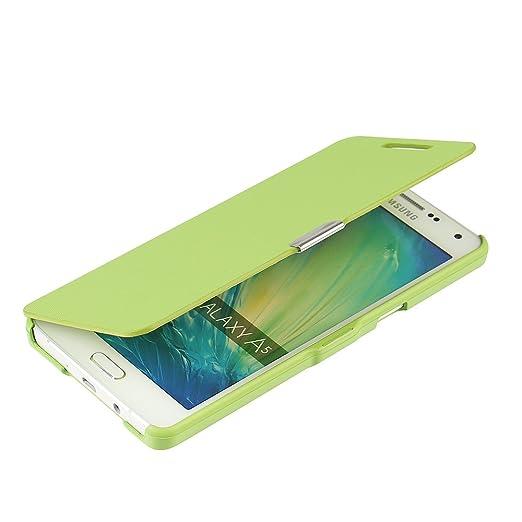 68 opinioni per Cover Samsung Galaxy A5 (2015), MTRONX Custodia Case Ultra Folio Flip Stile